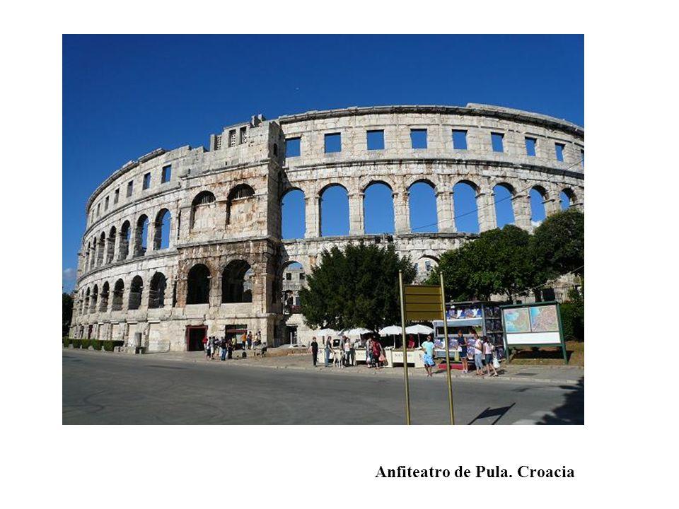 Anfiteatro de Pula. Croacia