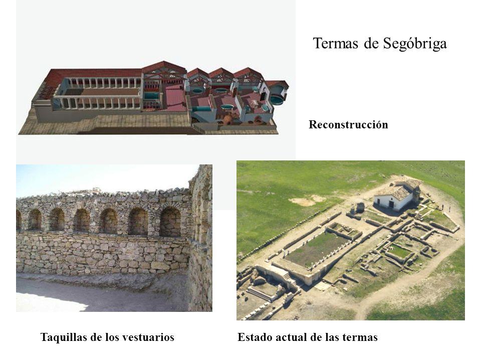 Termas de Segóbriga Reconstrucción