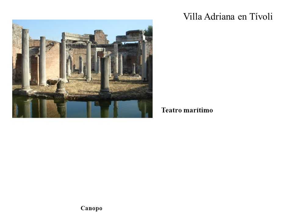 Villa Adriana en Tívoli