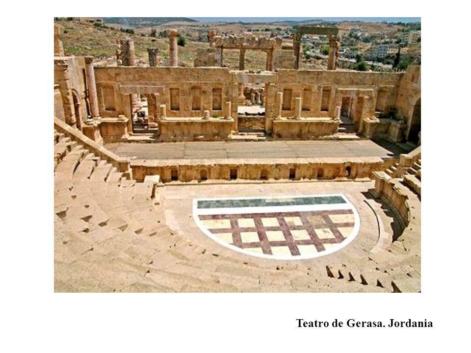 Teatro de Gerasa. Jordania