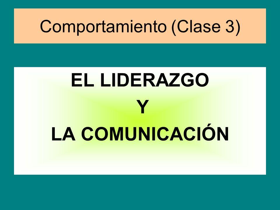 Comportamiento (Clase 3)