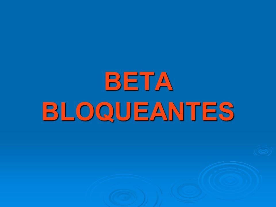 BETA BLOQUEANTES