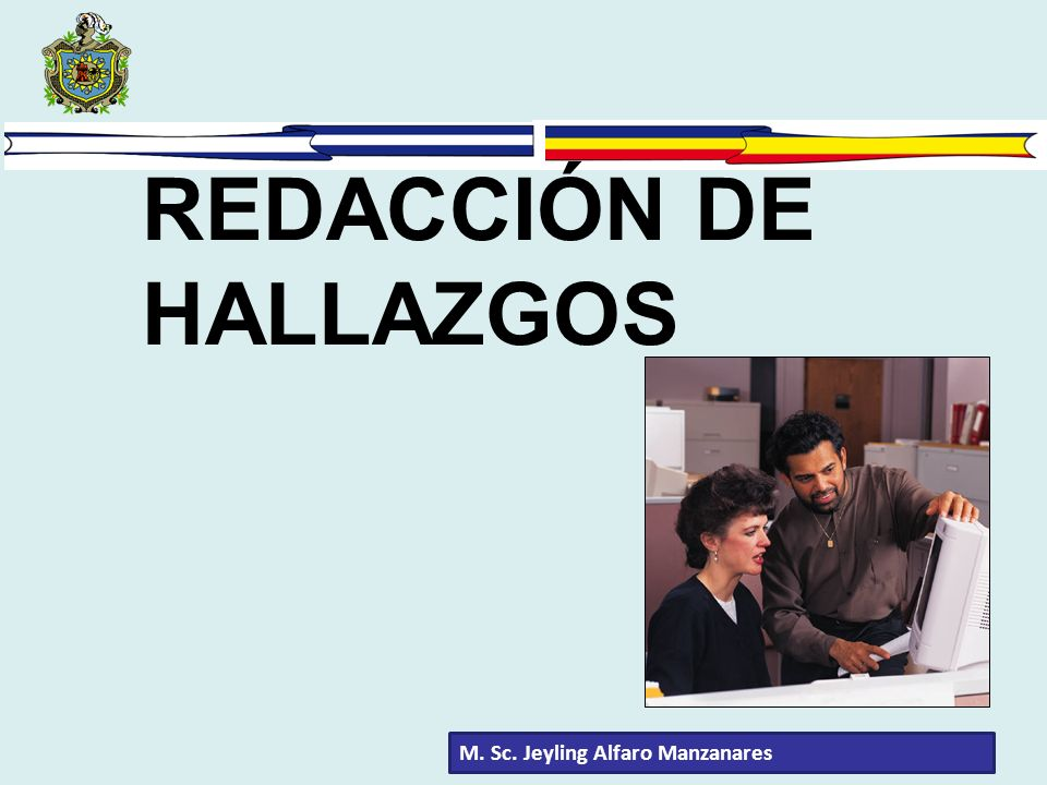 REDACCIÓN DE HALLAZGOS