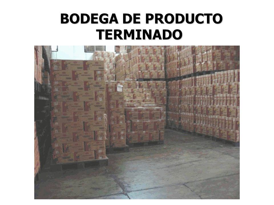 BODEGA DE PRODUCTO TERMINADO
