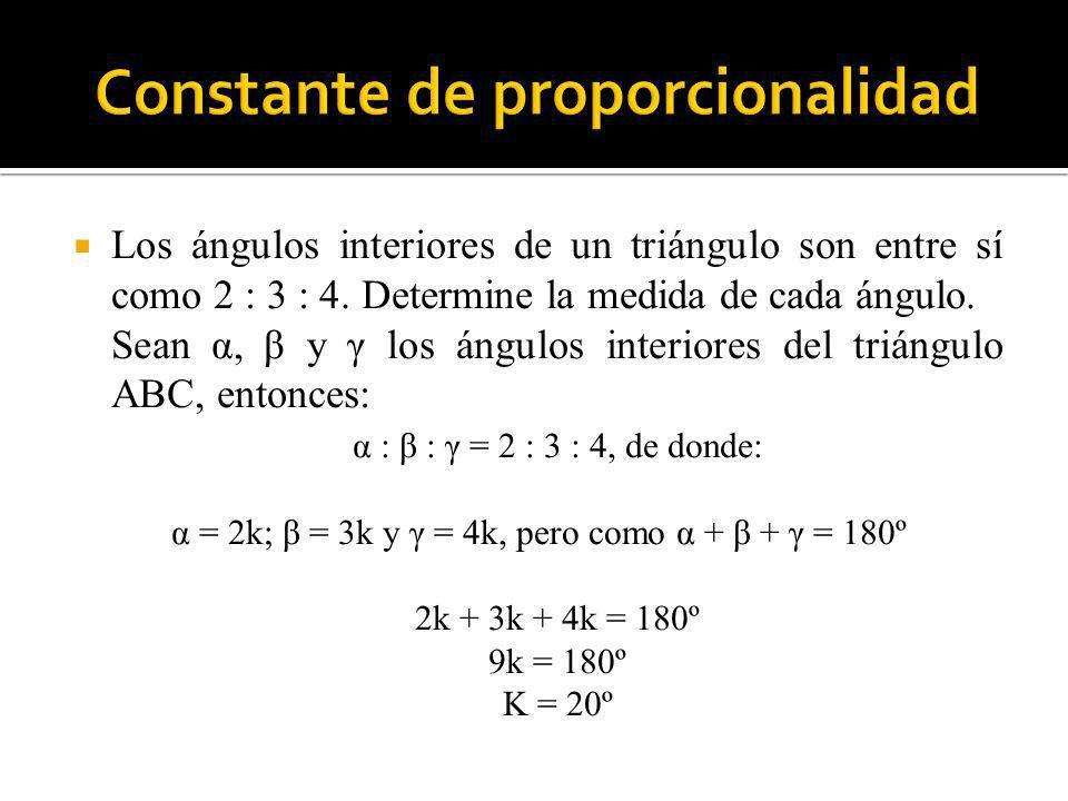 Constante de proporcionalidad