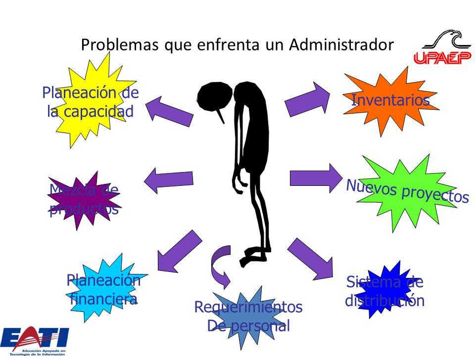 Problemas que enfrenta un Administrador