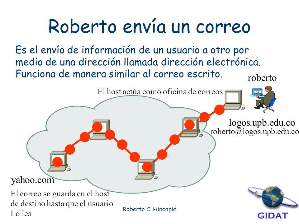 Roberto envía un correo
