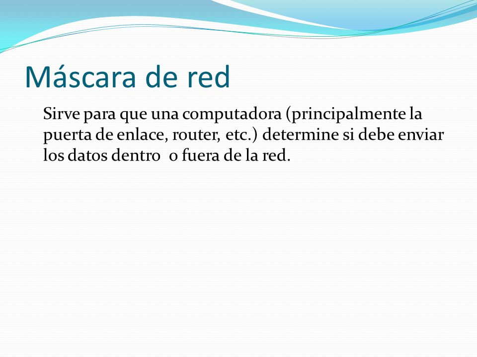 Máscara de red