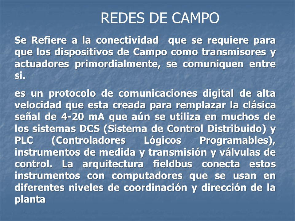REDES DE CAMPO