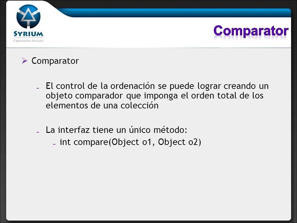 Comparator Comparator