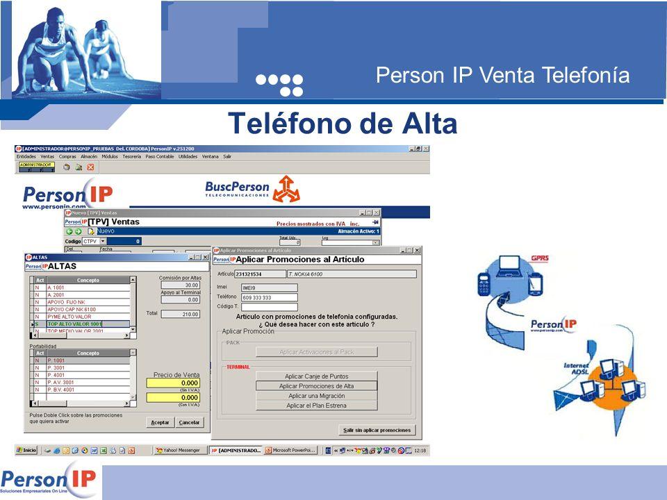 Person IP Venta Telefonía