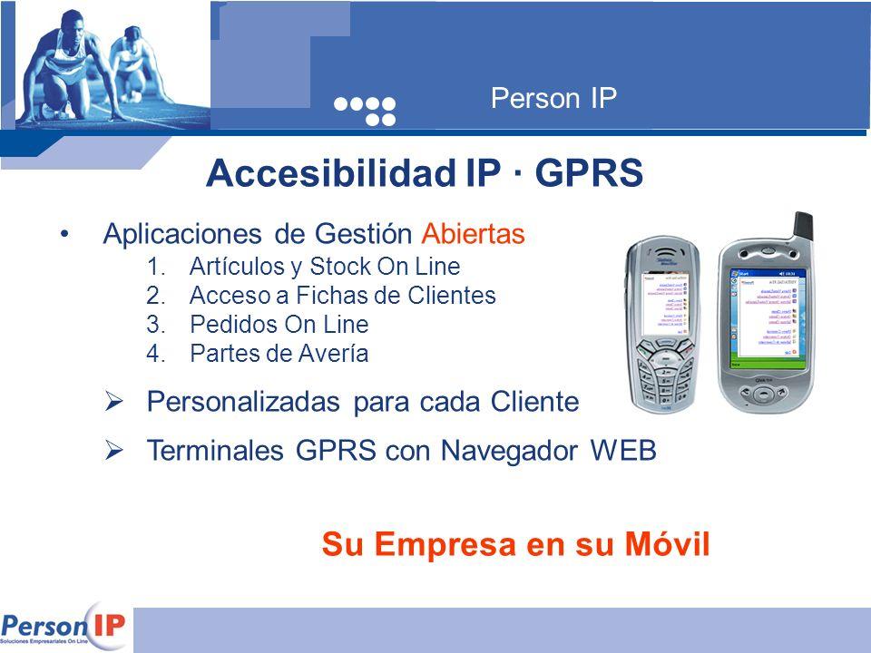 Accesibilidad IP · GPRS ·