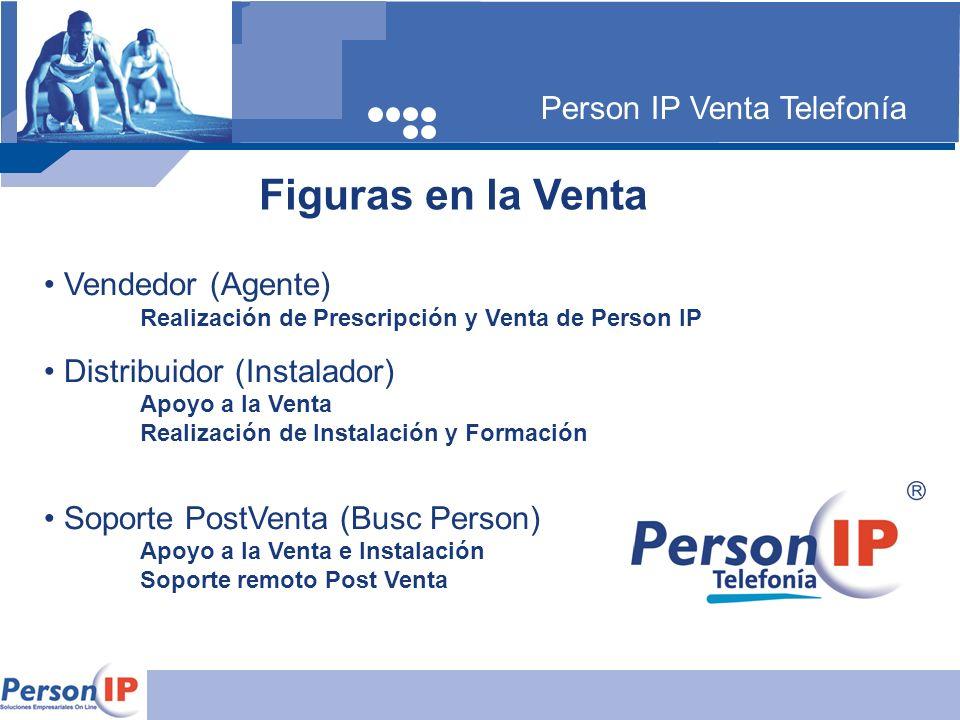 Figuras en la Venta Person IP Venta Telefonía Vendedor (Agente)