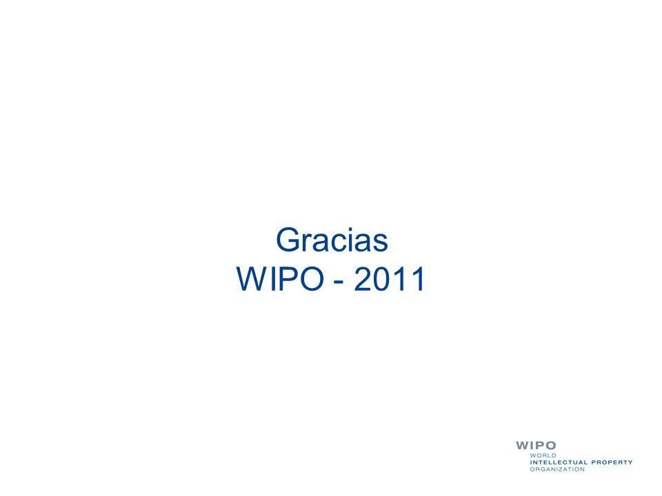 Gracias WIPO - 2011