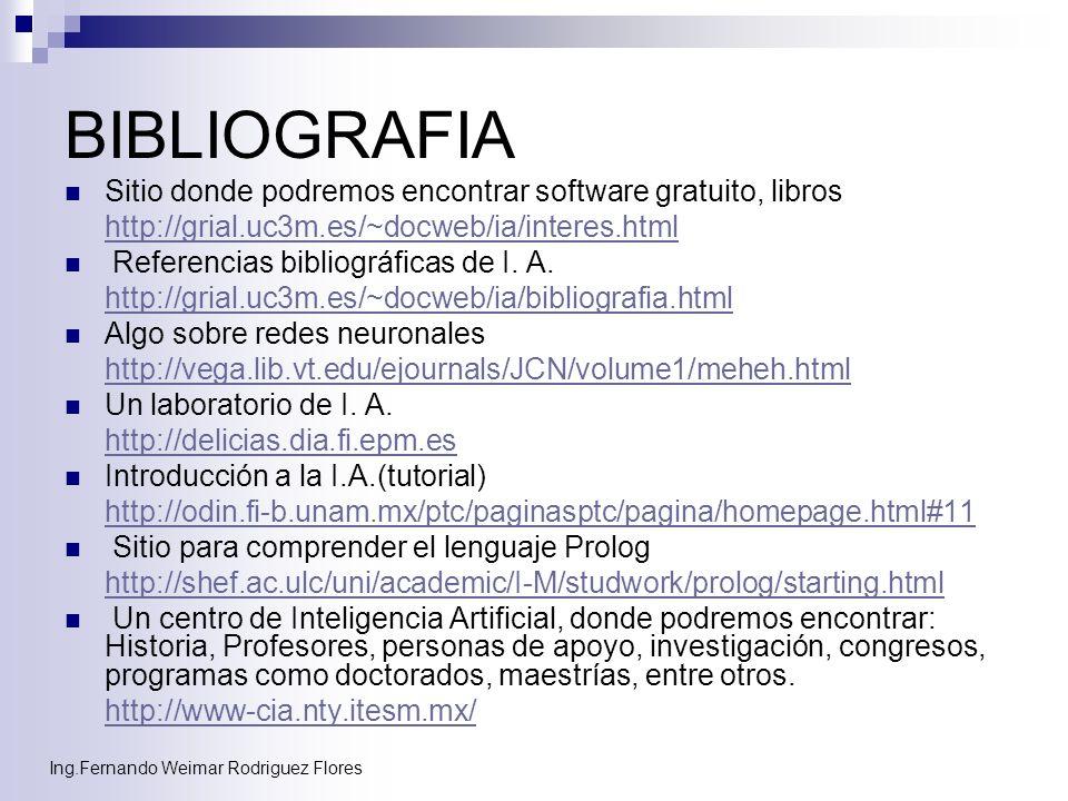 BIBLIOGRAFIA Sitio donde podremos encontrar software gratuito, libros