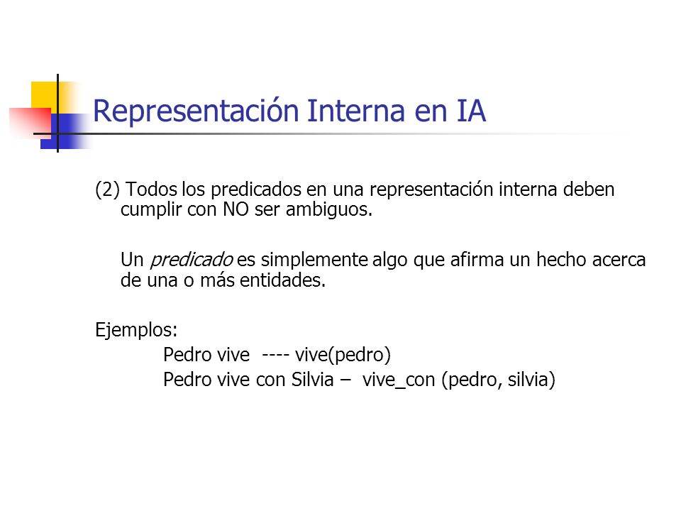 Representación Interna en IA