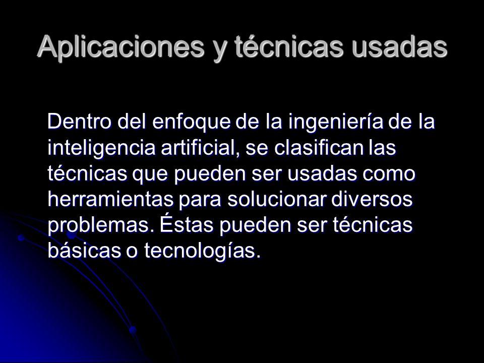 Aplicaciones y técnicas usadas