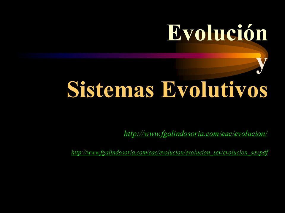 Evolución y Sistemas Evolutivos