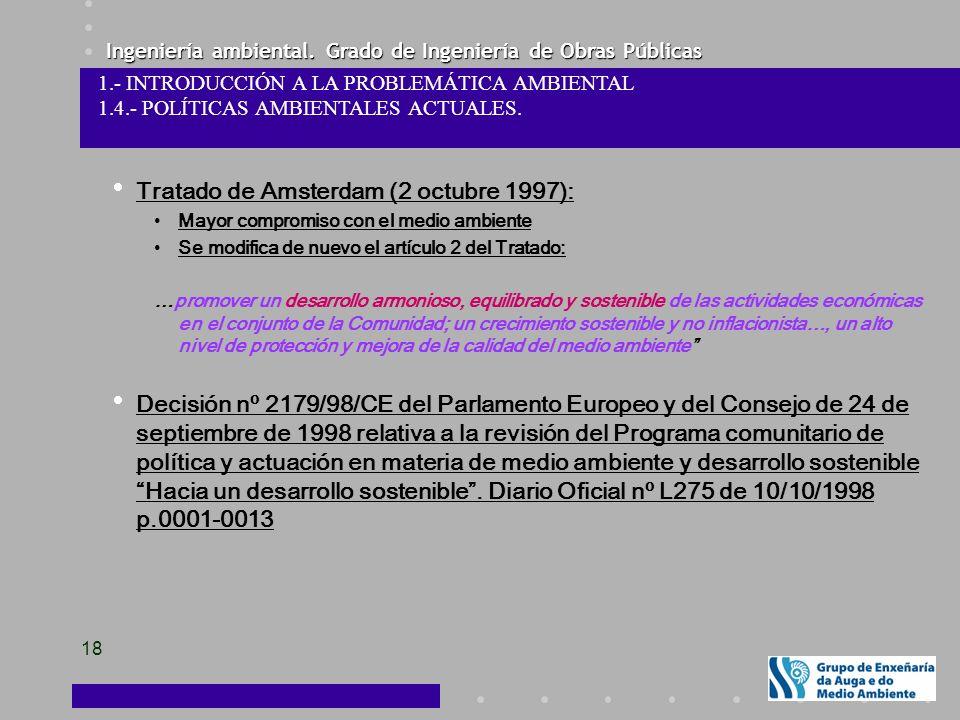 Tratado de Amsterdam (2 octubre 1997):