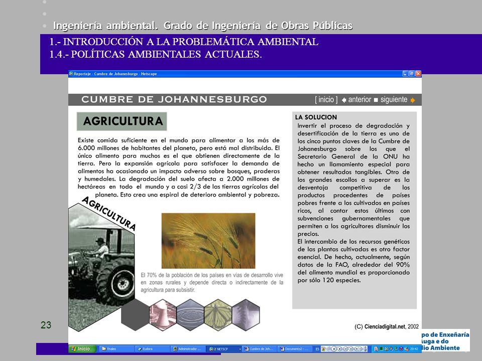 1.- INTRODUCCIÓN A LA PROBLEMÁTICA AMBIENTAL