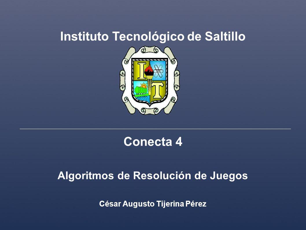 Instituto Tecnológico de Saltillo Conecta 4