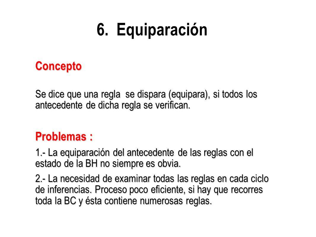 6. Equiparación Concepto Problemas :
