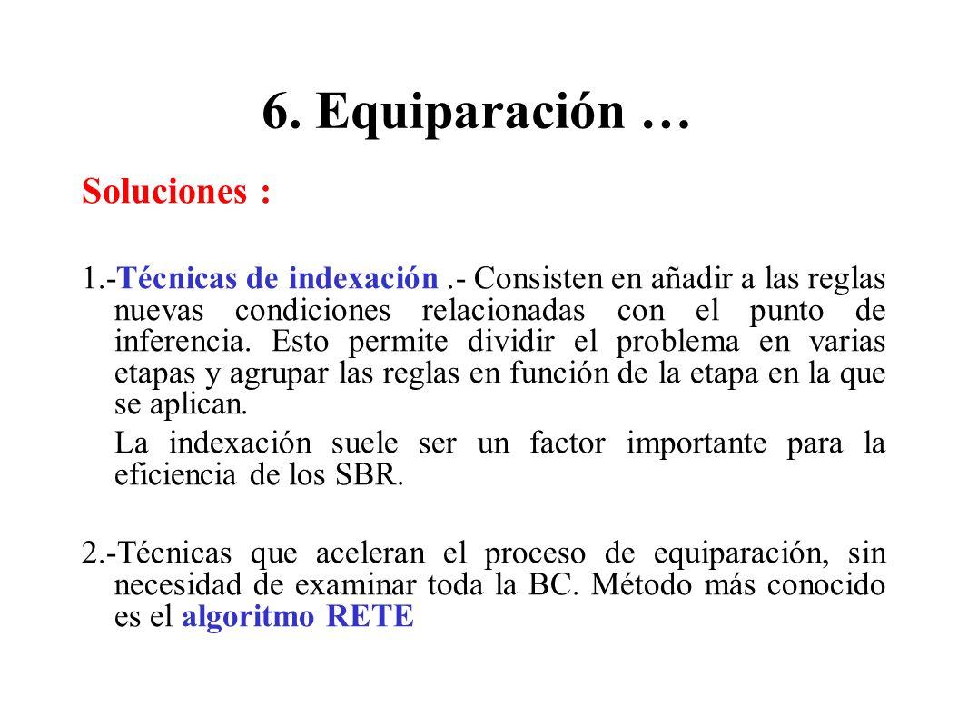 6. Equiparación … Soluciones :