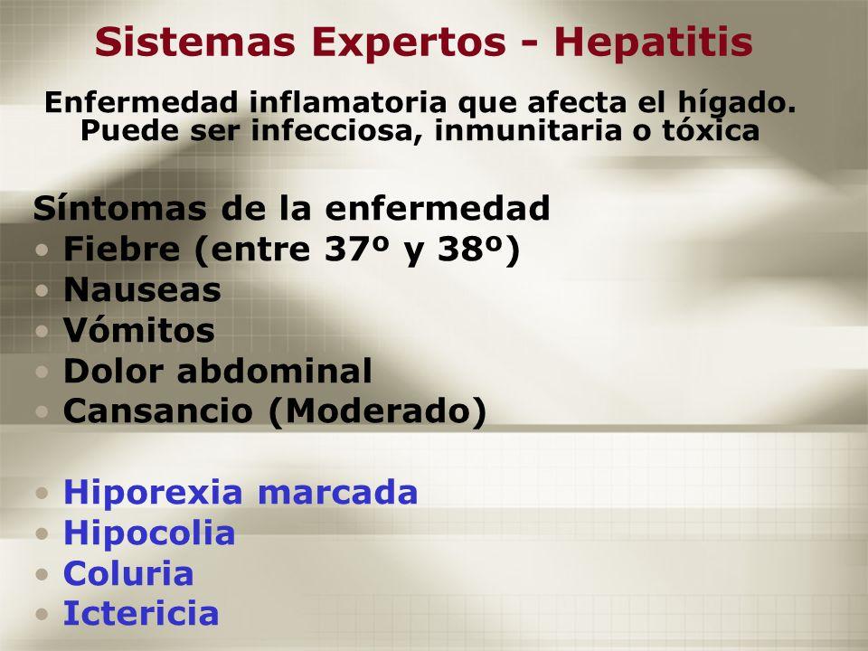 Sistemas Expertos - Hepatitis