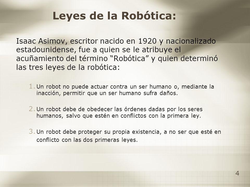 Leyes de la Robótica: