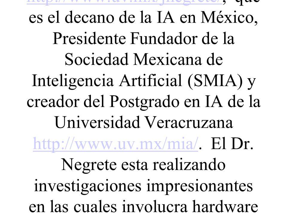 El Dr. José Negrete http://www. uv