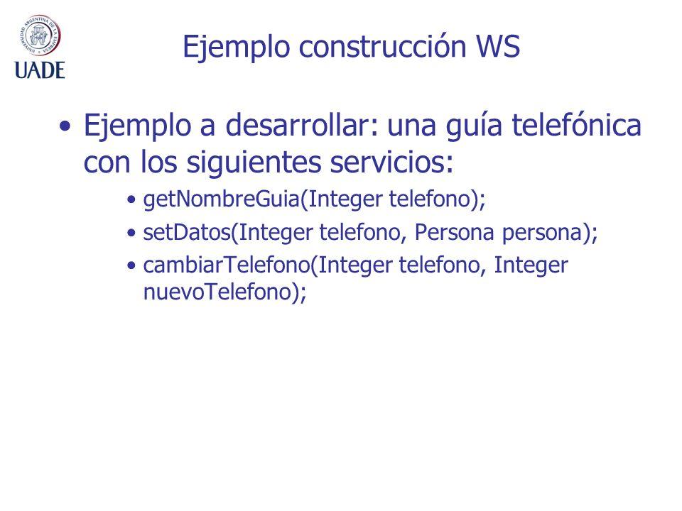 Ejemplo construcción WS