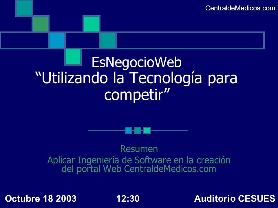 EsNegocioWeb Utilizando la Tecnología para competir