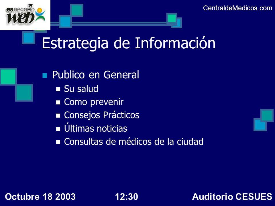 Estrategia de Información