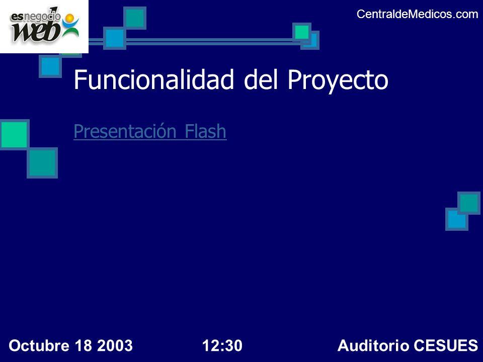 Funcionalidad del Proyecto