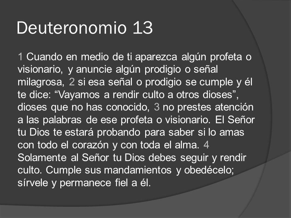 Deuteronomio 13