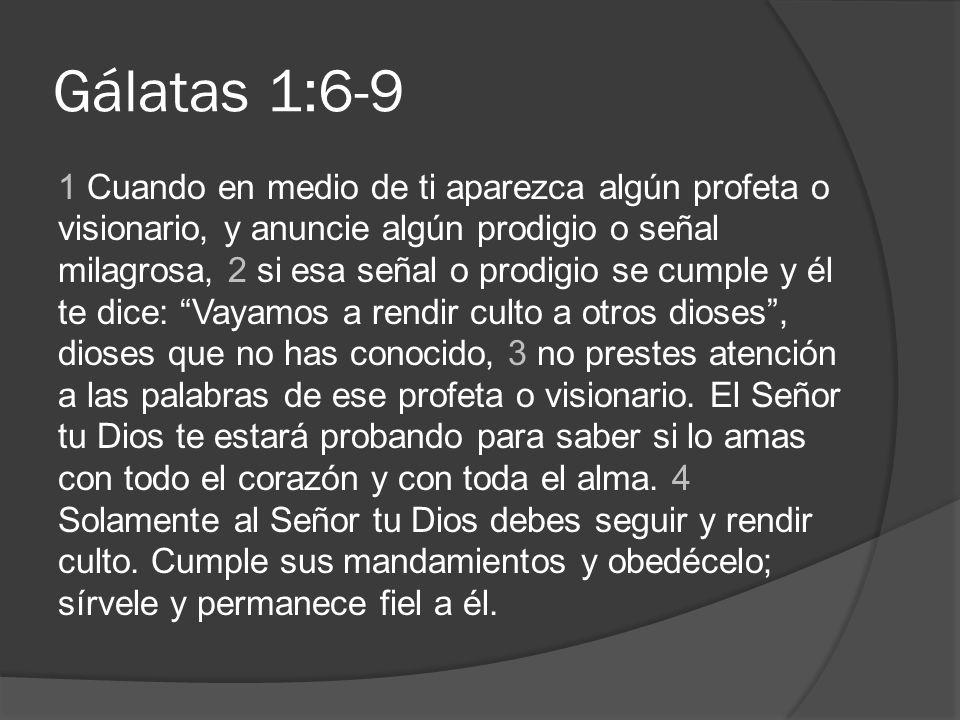 Gálatas 1:6-9