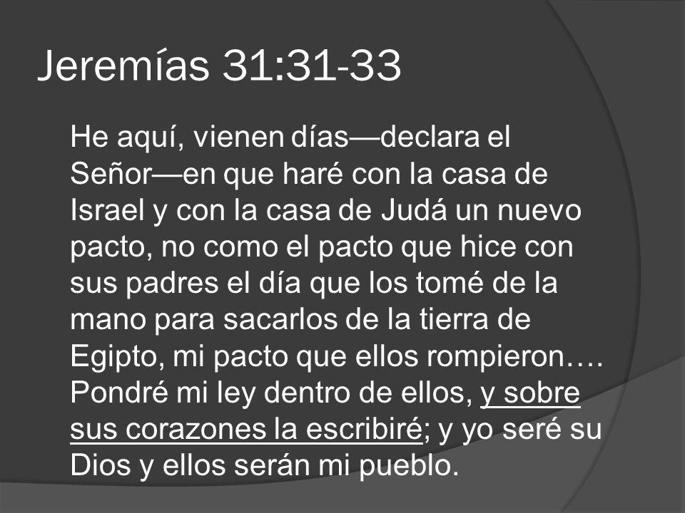 Jeremías 31:31-33