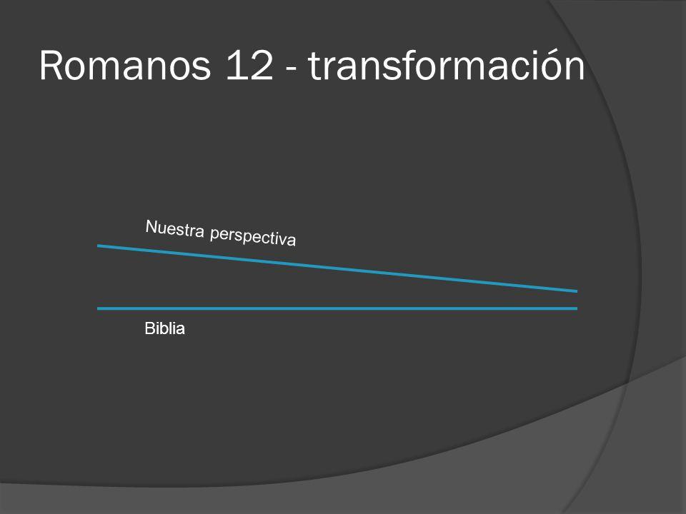 Romanos 12 - transformación