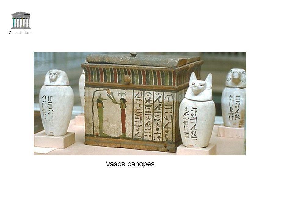 Claseshistoria Vasos canopes