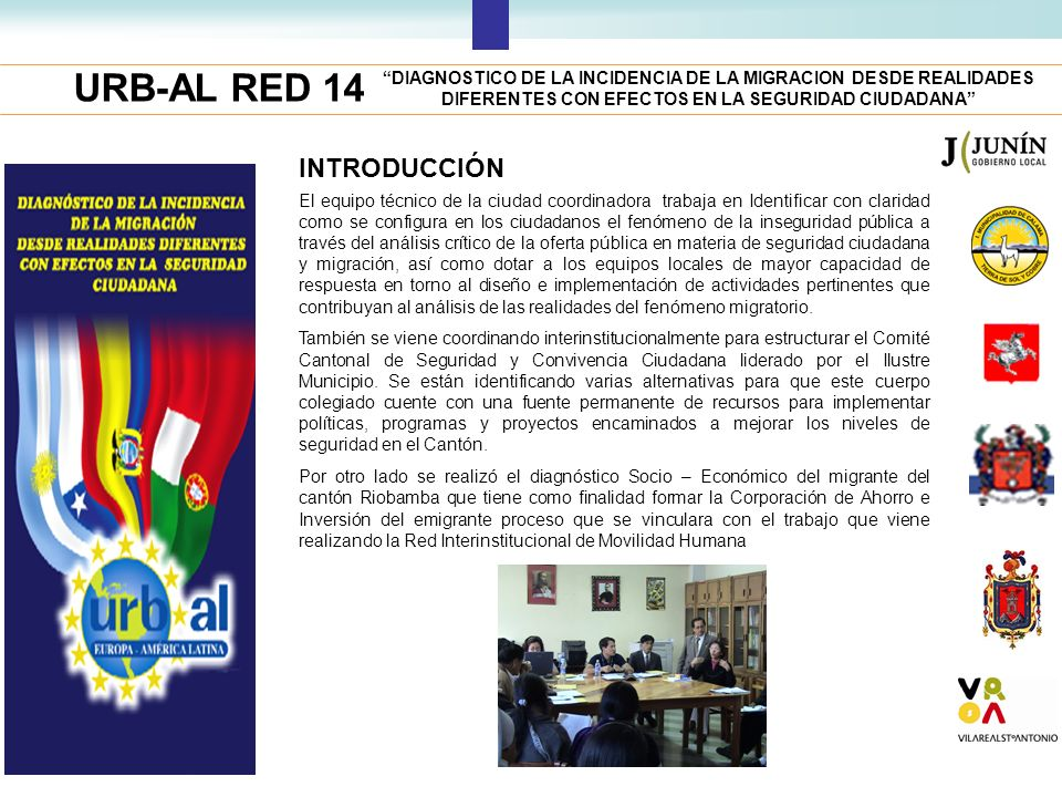 URB-AL RED 14 INTRODUCCIÓN