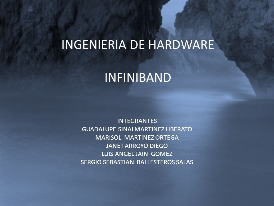 INGENIERIA DE HARDWARE INFINIBAND