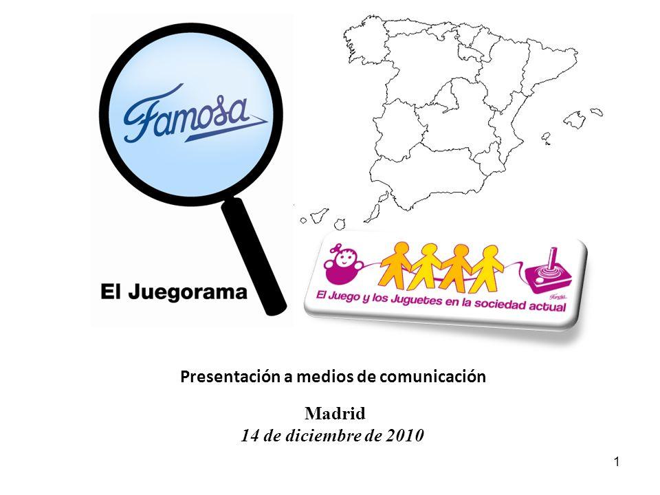 Presentación a medios de comunicación