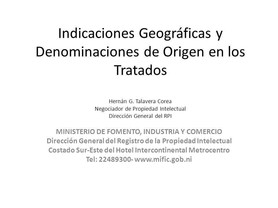 MINISTERIO DE FOMENTO, INDUSTRIA Y COMERCIO