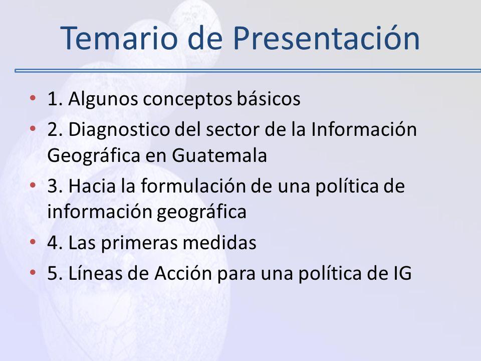 Temario de Presentación