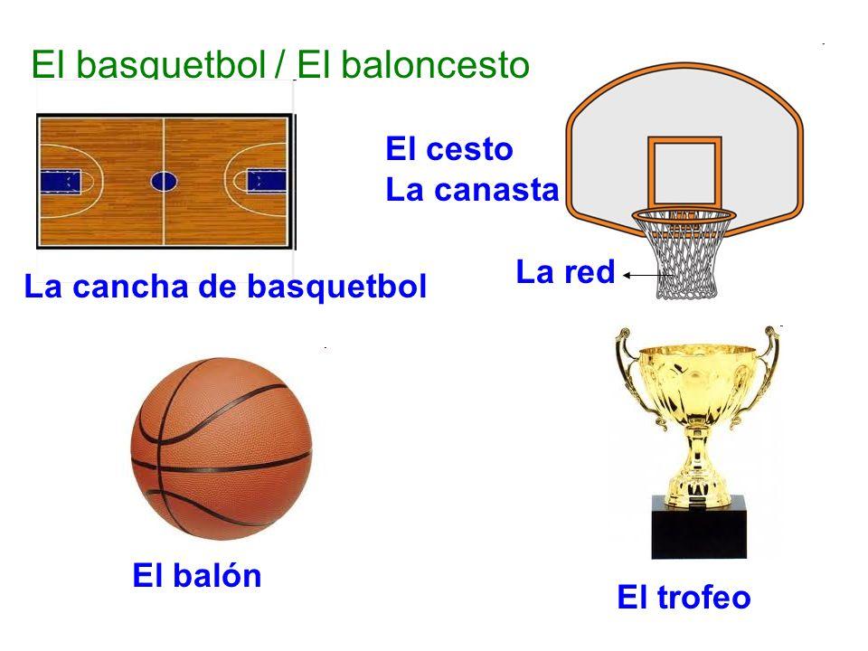 El basquetbol / El baloncesto