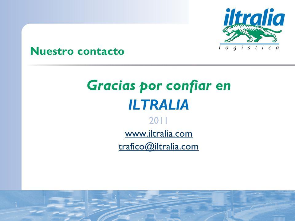 Gracias por confiar en ILTRALIA