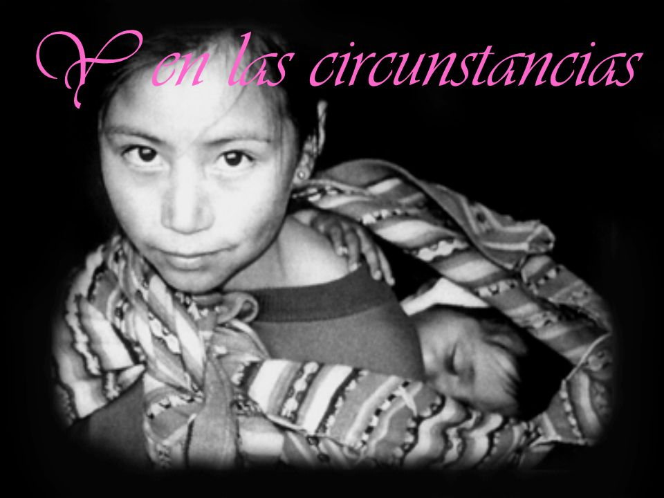Y en las circunstancias