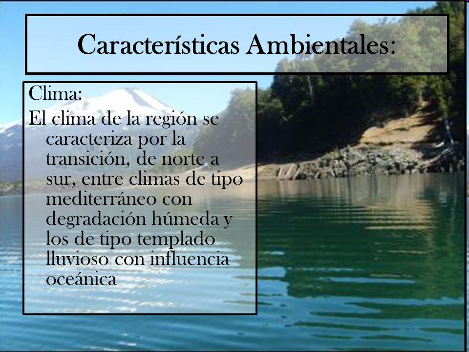 Características Ambientales: