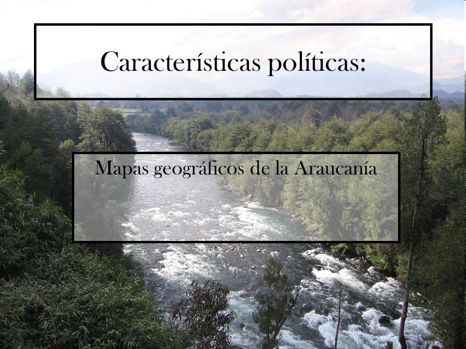Características políticas: