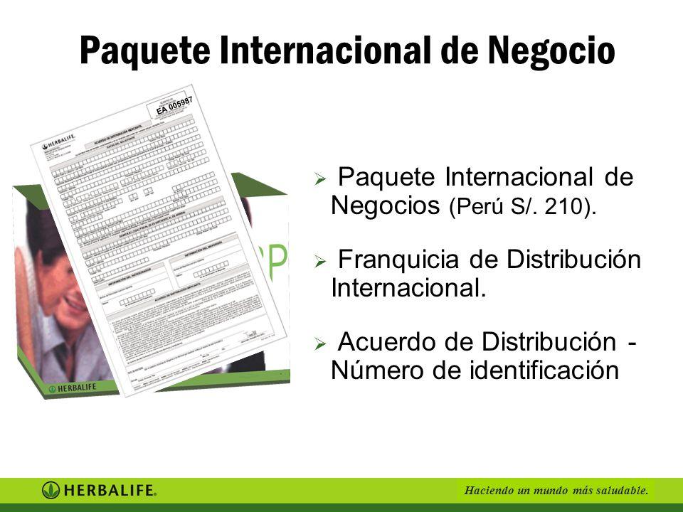 Paquete Internacional de Negocio